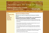 Healthcare Writing Services